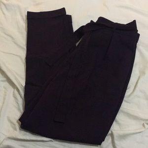 ASOS DEEP PURPLE DRESS PANT SIZE 8 UK 12